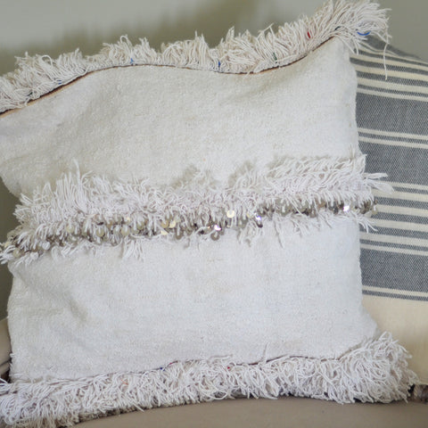 Triple Tufted Handira Pillow