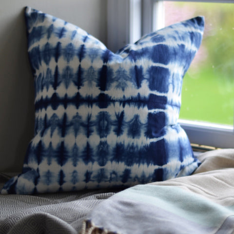 Shibori 'Graphic' Cushion Cover