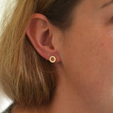 Luciana Circle Earrings