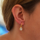 Elara Moonstone Earrings