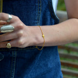 Little Star Gold Bracelet