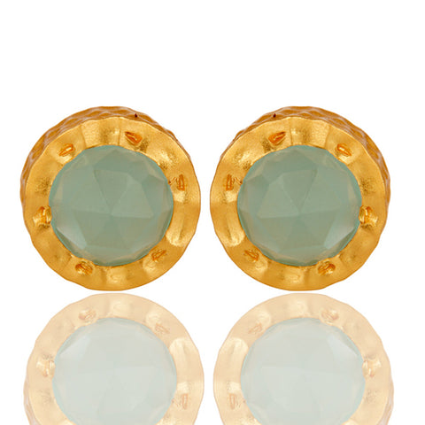 Haliae Aqua Chalcedony Earrings