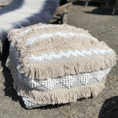 tassel floor cushion