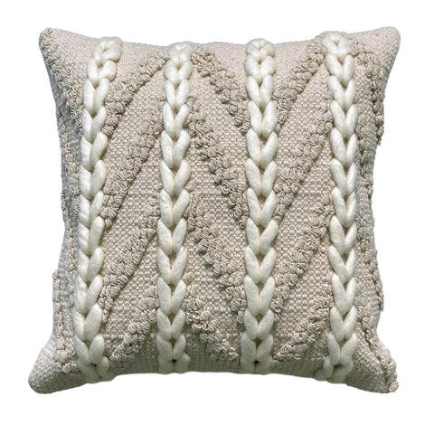 Niamh Plaited Cushion