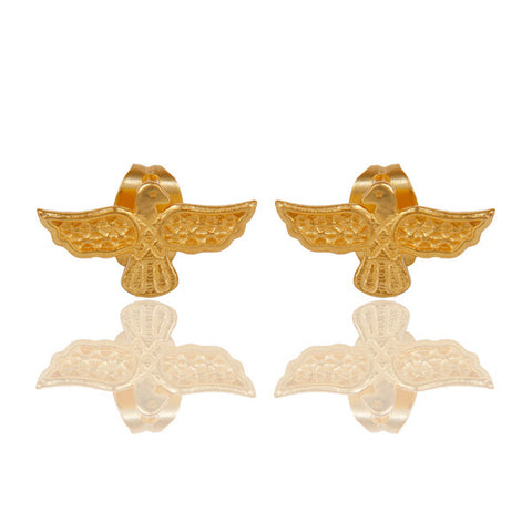 Hermes Bird Earrings