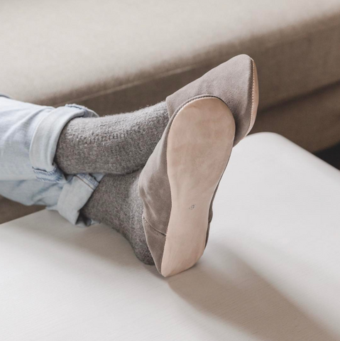 Ladies' Suede Slippers