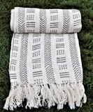 Mudcloth throw