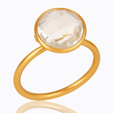 Dido Quartz Cocktail Ring