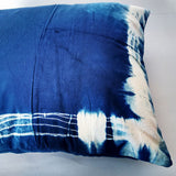 Shibori 'Charged' Cushion Cover