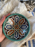 Turquoise Patterned Bowl