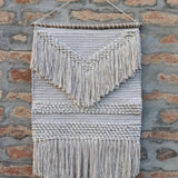 Enya Grey and White Wall Hanging