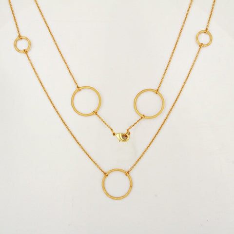 Aurum Circles Necklace