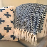 Chevron Turkish Cotton Throw