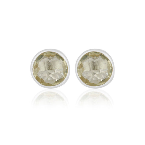 Livia Sterling Silver Topaz Earrings