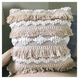 Lux Fringed Pillow