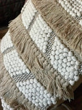 Olympia Fringed Tassel Cushion Cover