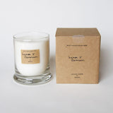Lemon & Geranium | Uplifting Scented Candle