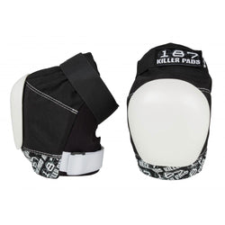 187 'Pro' Knee Pads (Black / White)