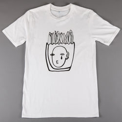 2SOFTiez 'Fries Man' T-Shirt (White)
