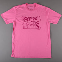 2SOFTiez 'Smokey Tonguey' T-Shirt (Baby Pink)