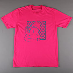 2SOFTiez 'Tiny Heart Lady' T-Shirt (Super Pink)