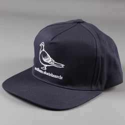 Anti Hero 'Pigeon' Snapback Hat (Navy / White) - CSC Store