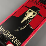 "Birdhouse 'Plague Doctor' 8"" Complete Skateboard (Red)"