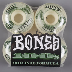 Bones '100's' 51mm Wheels - CSC Store