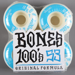 Bones '100's' 53mm Wheels - CSC Store