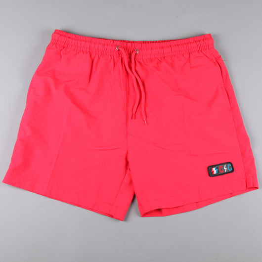 CSC 'Bolts Patch' Euro Shorts (Red October) - CSC Store