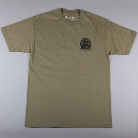 CSC 'Drunk' T-Shirt (Military Green) - CSC Store