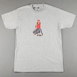 CSC 'Life's Too Shorty' T-Shirt (Heather Grey)