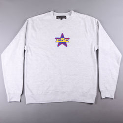 CSC 'MNCSC Embroidered' Crew (Heather Grey) - CSC Store