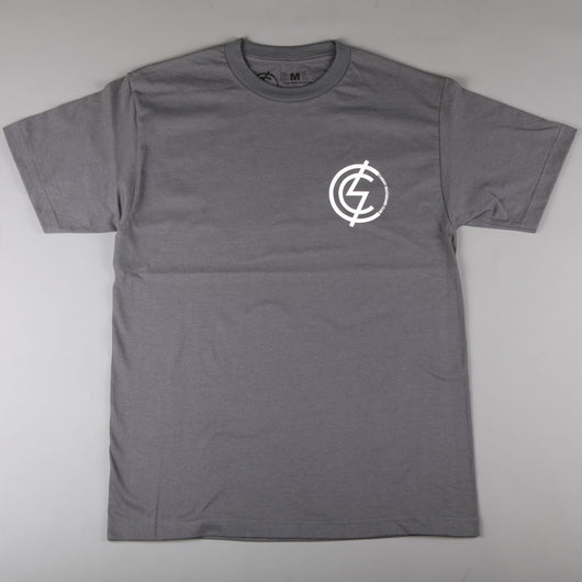 CSC 'Mod Chest' T-Shirt (Charcoal / White) - CSC Store