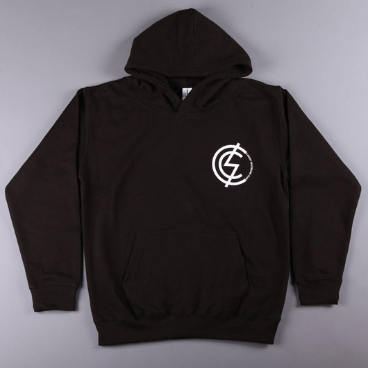 CSC 'Mod Chest' Kids Hood (Black / White) - CSC Store