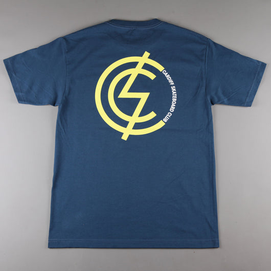 CSC 'Mod Two Tone' T-Shirt (Navy)