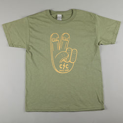 CSC 'Peace' Kids T-Shirt (Military Green)