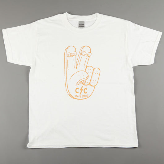 CSC 'Peace' Kids T-Shirt (White)