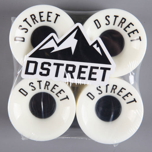 D-Street '59 Cent' 59mm 78a Wheels (White)