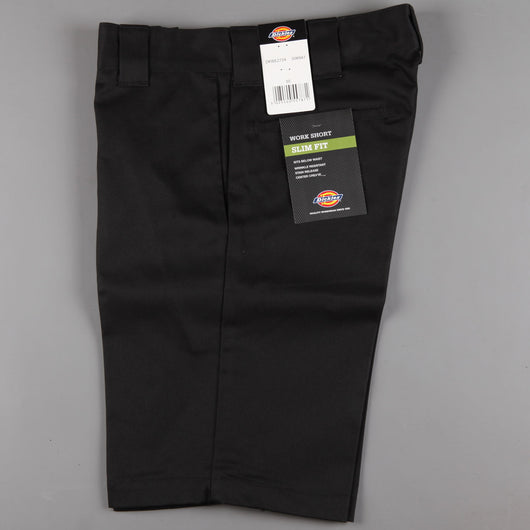Dickies 'Slim Straight 273' Work Short (Black)