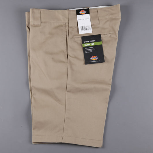 Dickies 'Slim Straight 273' Work Short (Khaki)
