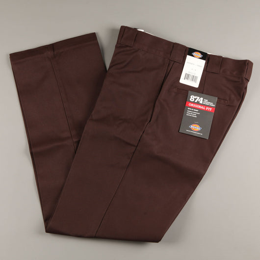 Dickies 'Original 874' Work Pant (Dark Brown)