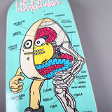 "Heroin 'Anatomy Of An Egg' 9.4"" Deck"