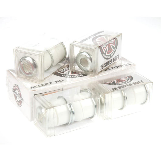 Independent 'Standard Cylinder' 78A Super Soft Bushings (White) - CSC Store