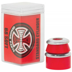 Independent 'Standard Conical' 88A Soft Bushings (Red)