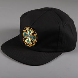 Independent 'Spectrum Truck Co' 5 Panel Cap (Black) - CSC Store