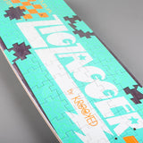 "Krooked 'Zip Zagger Peace Out' 8.6"" Deck - CSC Store"