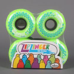 Krooked 'Zip Zinger' 58mm 80D Wheels (Green) - CSC Store