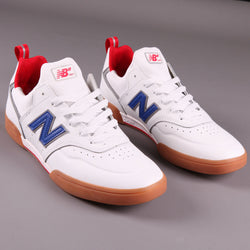 New Balance Numeric '288 Sport' Skate Shoes (White / Royal)
