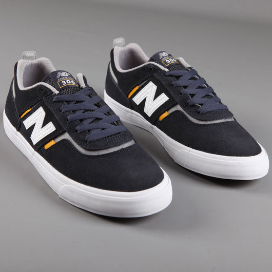 New Balance Numeric '306 Jamie Foy' Skate Shoes (Navy / Yellow) - CSC Store